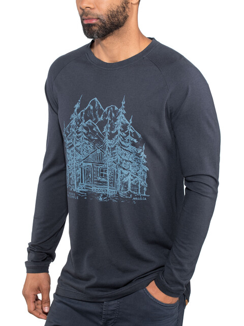 Maloja PouzM. Longsleeve Shirt Men blue